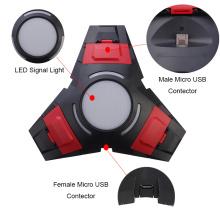 Triangle dual charging with LED Light USB Dock Para Sony Playstation 4 PS4 Dualshock 4 carregador Controller