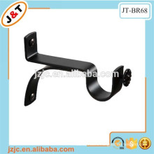 tension adjustable curtain rod brackets