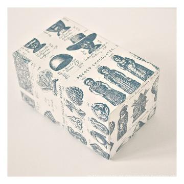 Caja de embalaje de regalo de papel cuadrado personalizado