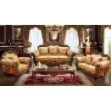 Дерево ткань диван для гостиной мебели (D929)