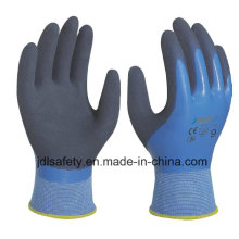 Latex Work Glove with Sandy Latex Coated (LRS3033)