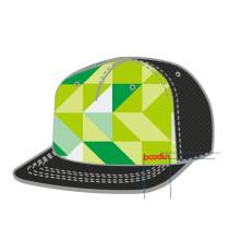 Flat Peak B-Boy ajustável Snapback Cap (CA140112)