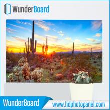 Alta calidad de aluminio HD foto Panel