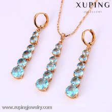 61987-Xuping Fashion Woman Jewlery avec plaqué or 18 carats