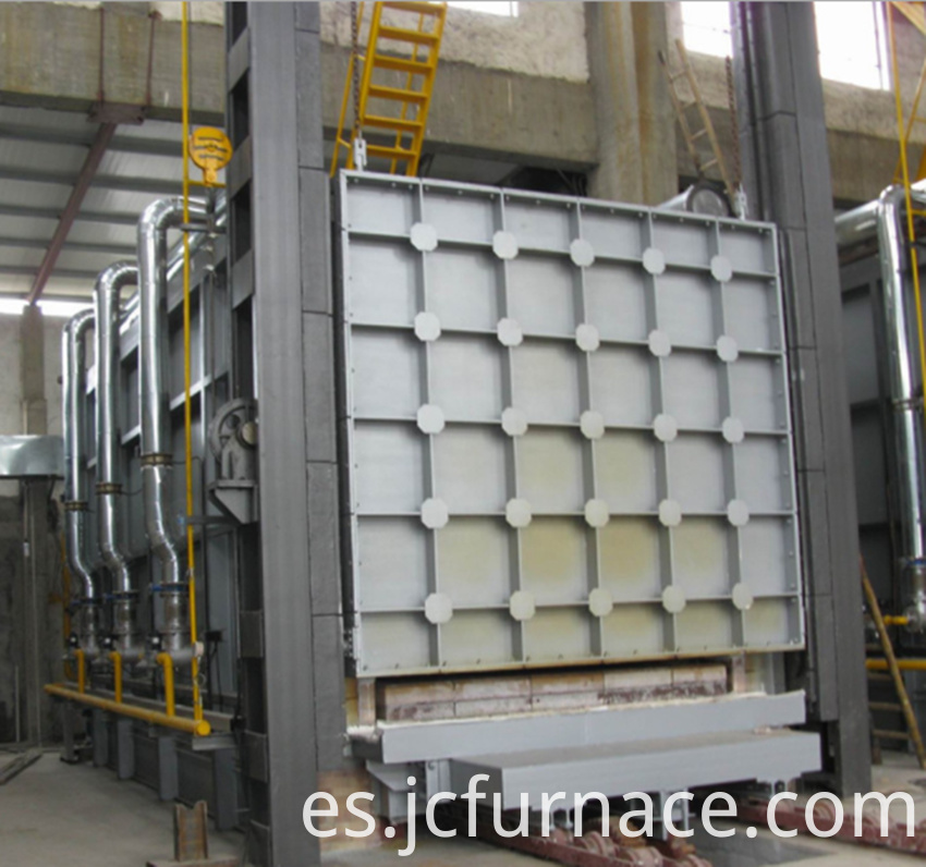 Large car type annealing furnace debugging