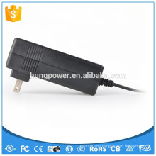 Wall mount type ac dc adapter 12v 5a the power supply with UL KC certificate