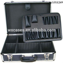 2015 Latest promotional high quality aluminum tool case with customized size