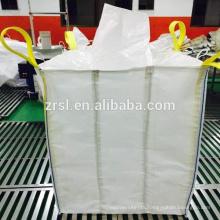 inflexible intermediate bulk container PP FIBC bag, PP super sack for loading sand for building material