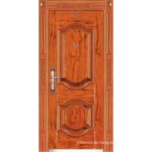 Puerta de acero de seguridad (JC-069-1)