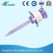 Disposable Laparoscopic Instrument Trocar for Abdominal Surgery