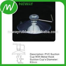 Hersteller für transparente 63mm PVC Saugnapf