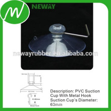 Fabricante for Transparent 63mm PVC Suction Cup