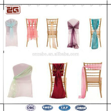 Professional Factory Price Wedding Lace Sash for Chairs/Chair Covers and Sashes for Sale