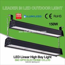 O CE RoHS aprovou a iluminação alta linear da baía do diodo emissor de luz 150w com o motorista do poço HLG do meio
