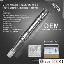 Korean Style 12needles Derma Pen Roller /Permanent Makeup Machine Zx12-22