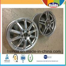 Revestimento especial de alumínio do pó de Mteallic do cubo das rodas de carro da resistência de desgaste