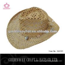 Chapéus de cowboy de papel para mulher baratos