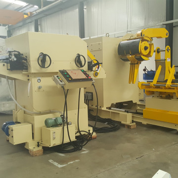 Servo Feeder uncoiler leveling machine