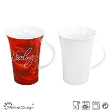 13oz Porcelain Ceramic Milk Mug High Quality