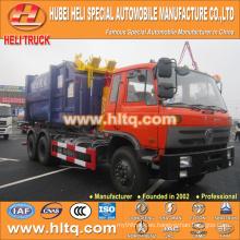 DONGFENG nuevo modelo 18cbm 6X4 210hp tirando brazo camión de basura de alta calidad más vendidos en China