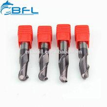 BFL Карбид 2 Флейта Удлиненный хвостовик 4мм Шариковая концевая фреза