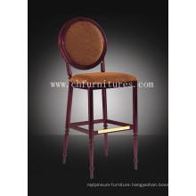 Antique Round Back High Leg Bar Chair (YC-H002)