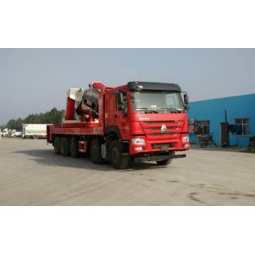 SINOTRUCK HOWO 10X4 Truck With 26-50T Crane