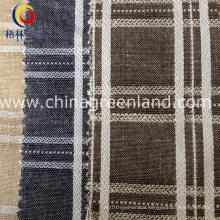 Cotton Linen Jacquard Fabric for Textile Home Sofa (GLLML132)