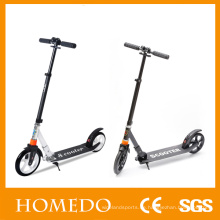 2 Rad Handbremse Kinder Erwachsene Kick Roller Big Wheel Scooter zum Verkauf