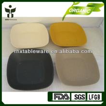 Placa de fibra de bambu biodegradável