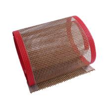 Las industrias de secado de medicamentos utilizan una cinta transportadora de malla de PTFE