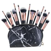 18 Pcs powder makeup brush Set holder korean morphe
