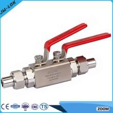 Vannes de robinet de butée haute pression à haute pression en Chine