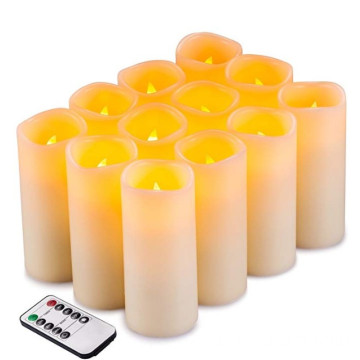 Flameless Candles Flickering Conjunto de velas de LED