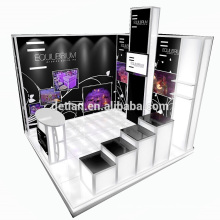 Detian Angebot 10x10 fuß comestic counter messestand spannung stoff werbung display
