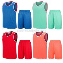 OEM sublimation print basketball jersey nouveau modèle uniforme
