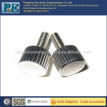 China high precision custom straight knurling automotive parts
