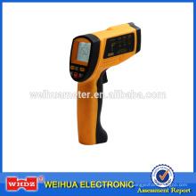 Termómetro infrarrojo WH1150 Termómetro tipo pistola sin contacto Luz posterior industrial