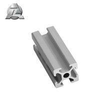 Extrusão de alumínio anodizado com ranhura t 2020