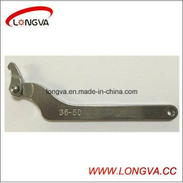 Wenzhou usine réglable tuyau Union Spanner