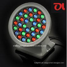 LED 18W / 36W RGB Rundwaschmaschine