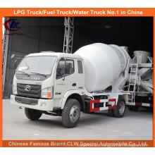 Foton 3cbm Mini Concrete Mixer Truck for Small Cement Mixer