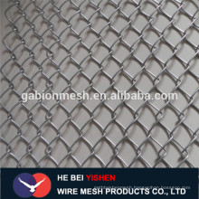 Galvanized chain link fence /pvc coated chain link fence in China