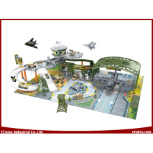 Educational DIY Toys Military Base Toys Command Center for Kids