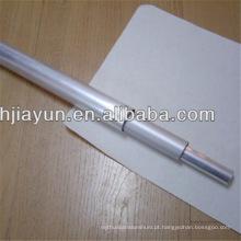 Tubo de alumínio Tubo de pólo de alumínio Tubo de triângulo