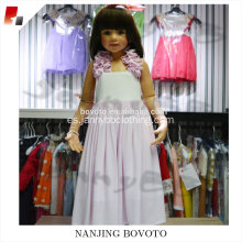 Light pink dress designs for kid girls