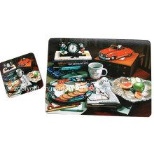 Tapas de la cena de corcho grande / Tableta promocional de la tabla / Cubiertas de la taza de corcho modificadas para requisitos particulares