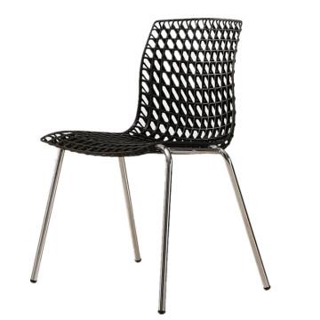 Plastikgartenfreizeitgarten der preiswerten Möbel, der stapelbaren hohlen Stuhl speist
