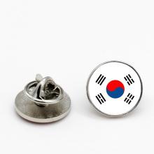 High Quality Custom Metal Enamel Korean Flag Lapel Pin