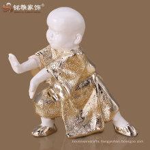 toys guangzhou resin crafts cute shaolin kungfu monk sculpture
